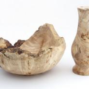 Schale und Vase